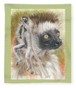 Agile Fleece Blanket by Barbara Keith