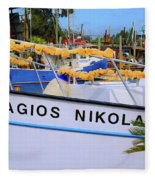 Agios Nikolaos Fleece Blanket