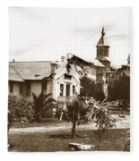 Agnews State Hospital San Jose Calif. 1906 Fleece Blanket