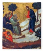 Agony In The Garden 1311 Fleece Blanket