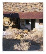 Aguereberry Camp - Death Valley Fleece Blanket