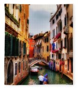 Ahh Venezia Fleece Blanket