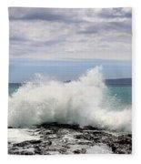 Ahihi Cove Fleece Blanket
