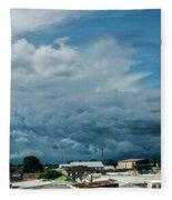 Ahuachapan Color 3 Fleece Blanket