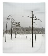Ahvenlammi 10 Fleece Blanket