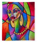 Aida Fleece Blanket