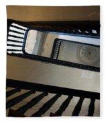 Aiken Rhett Stairs Fleece Blanket