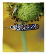 Ailanthus Webworm Moth #6 Fleece Blanket