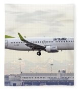 Air Baltic Boeing 737-300 Fleece Blanket