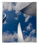 Air Force Memorial Fleece Blanket