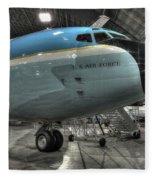 Air Force One - Boeing Vc-137c Sam 26000 Fleece Blanket