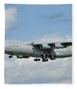 Air Force Plane Fleece Blanket