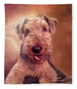 Airedale Fleece Blanket