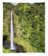 Akaka Falls, Hawaii Fleece Blanket
