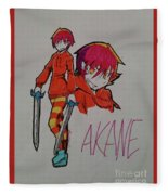 Akane Fleece Blanket