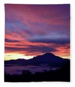 Akinabalu 1 Fleece Blanket