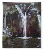 Akron Falls Fleece Blanket