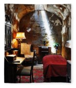 Al Capone's Cell - Eastern State Penitentiary Fleece Blanket