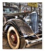 Al Capone's Packard Fleece Blanket