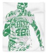 Al Horford Boston Celtics Pixel Art 7 Fleece Blanket