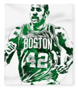 Al Horford Boston Celtics Pixel Art Fleece Blanket