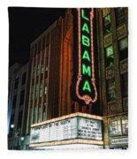 Alabama Theater Fleece Blanket