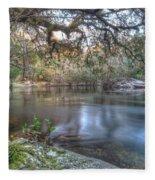 Alafia River Fleece Blanket