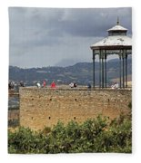 Alameda De Jose Antonio In Ronda Spain Fleece Blanket
