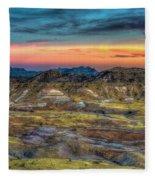 Alamo Creek Sunset Fleece Blanket