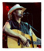 Alan Jackson-0766 Fleece Blanket