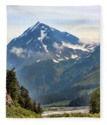 Alaska A Fleece Blanket