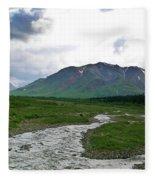 Alaska Denali National Park Landscape 1 Fleece Blanket