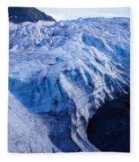 Alaska Exit Glacier Fleece Blanket