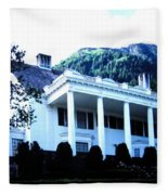 Alaska Governors Mansion Fleece Blanket