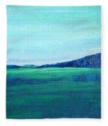 Alaska Lake Fleece Blanket
