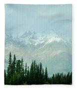 Alaska Range 2 Fleece Blanket
