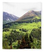 Alaska Scenery II Fleece Blanket