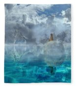 Alaskan Avalon Fleece Blanket