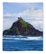 Alau Islet, Fisherman Fleece Blanket