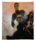 Albert I King Of The Belgians In The First World War Fleece Blanket