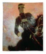 Albert I King Of The Belgians In The First World War Fleece Blanket