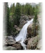 Alberta Falls 02 Fleece Blanket