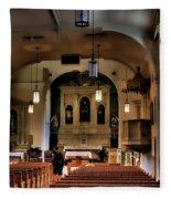 Albuquerque Church Fleece Blanket
