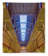 Alcatraz Federal Penitentiary Fleece Blanket