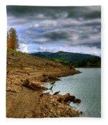 Alder Lake Fleece Blanket