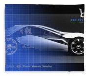 Alfa Romeo Bertone Pandion Concept Fleece Blanket