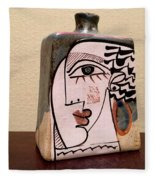 Alfajar Vase Fleece Blanket