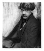 Alfred Stieglitz (1864-1946) Fleece Blanket