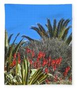 Algarve Plants Fleece Blanket