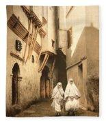 Algeria: Street Scene, C1899 Fleece Blanket